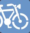 Icono de Pàrquing de bicicletes