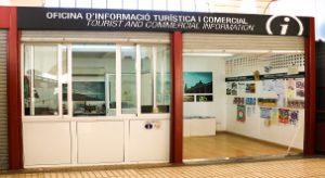 Tourismus Informationspunkt in Felanitx Markt