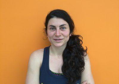 Clara Andreu Monitora Activitats Aquatiques i Dirigides