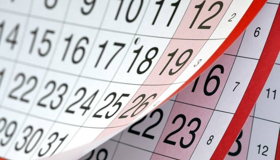 Calendaris any 2018