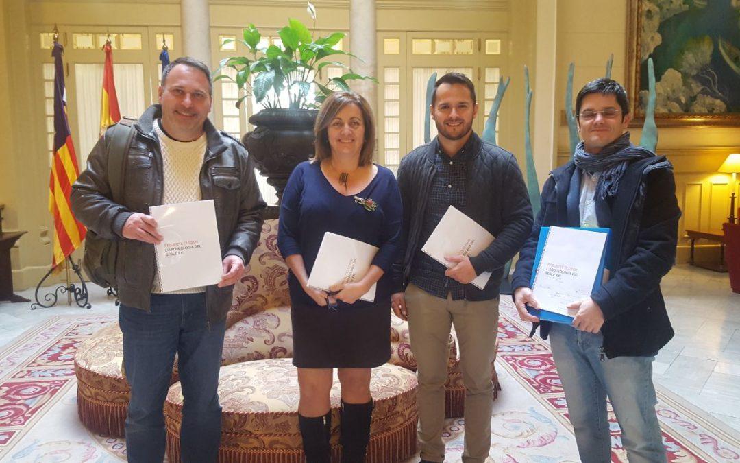 El Projecte Closos i l'Ajuntament de Felanitx es reuneixen amb la Consellera de Cultura per aconseguir finançament de l'impost turístic sostenible