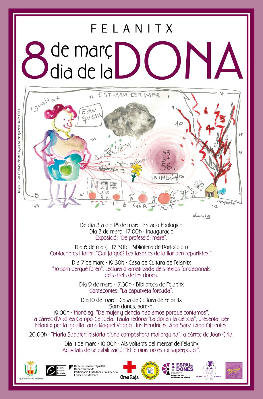 Activitats Per A Celebrar El Dia De La Dona Ajuntament De Felanitx