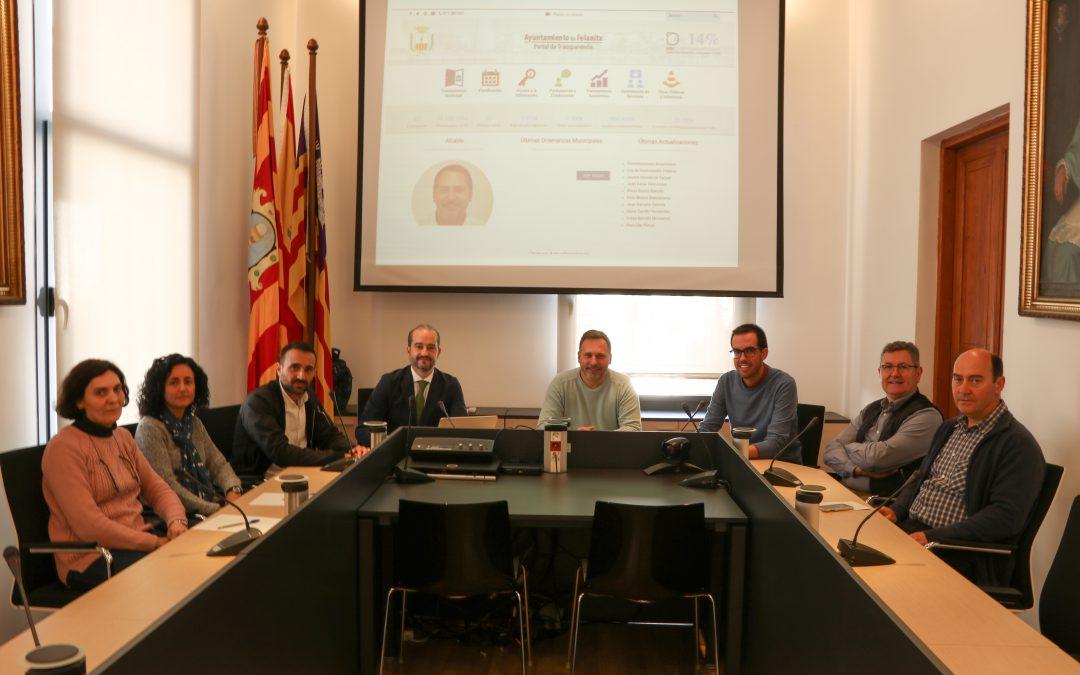 L'Ajuntament de Felanitx inicia un Pla de Transparència per a convertir-se en referent de Govern Obert