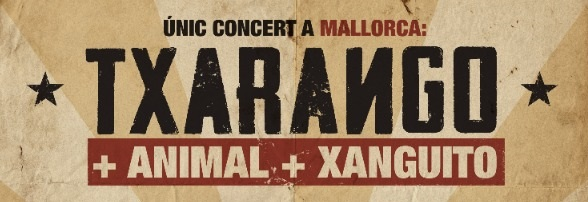 Txarango en concert el 25 d'agost a Felanitx