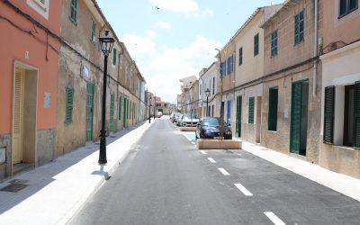 Finalització obres de millora dels carrers Cifre i Pelat de Felanitx
