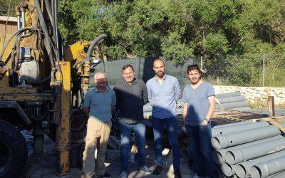 L'Ajuntament de Felanitx fa un pou a S'Horta per assegurar l'abastiment d'aigua al nucli