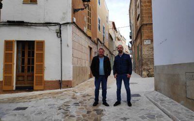 Finalitzen les obres de rehabilitació dels carrers del centre de Felanitx