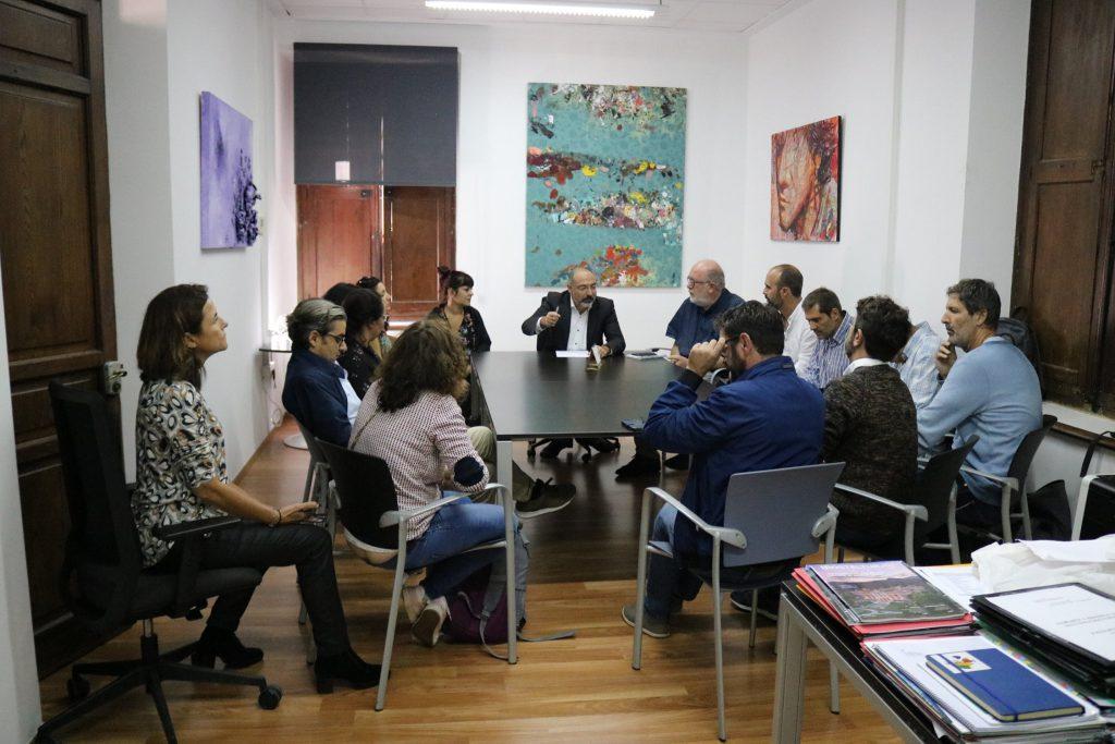 Reunió mantiguda amb el Consell de Mallorca i la Mallorca Film Comission