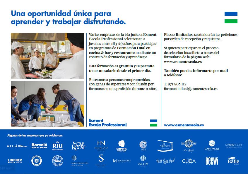 FORMACIO DUAL AMADIP ESCOLA PROFESSIONAL joves 16 a 29 anys