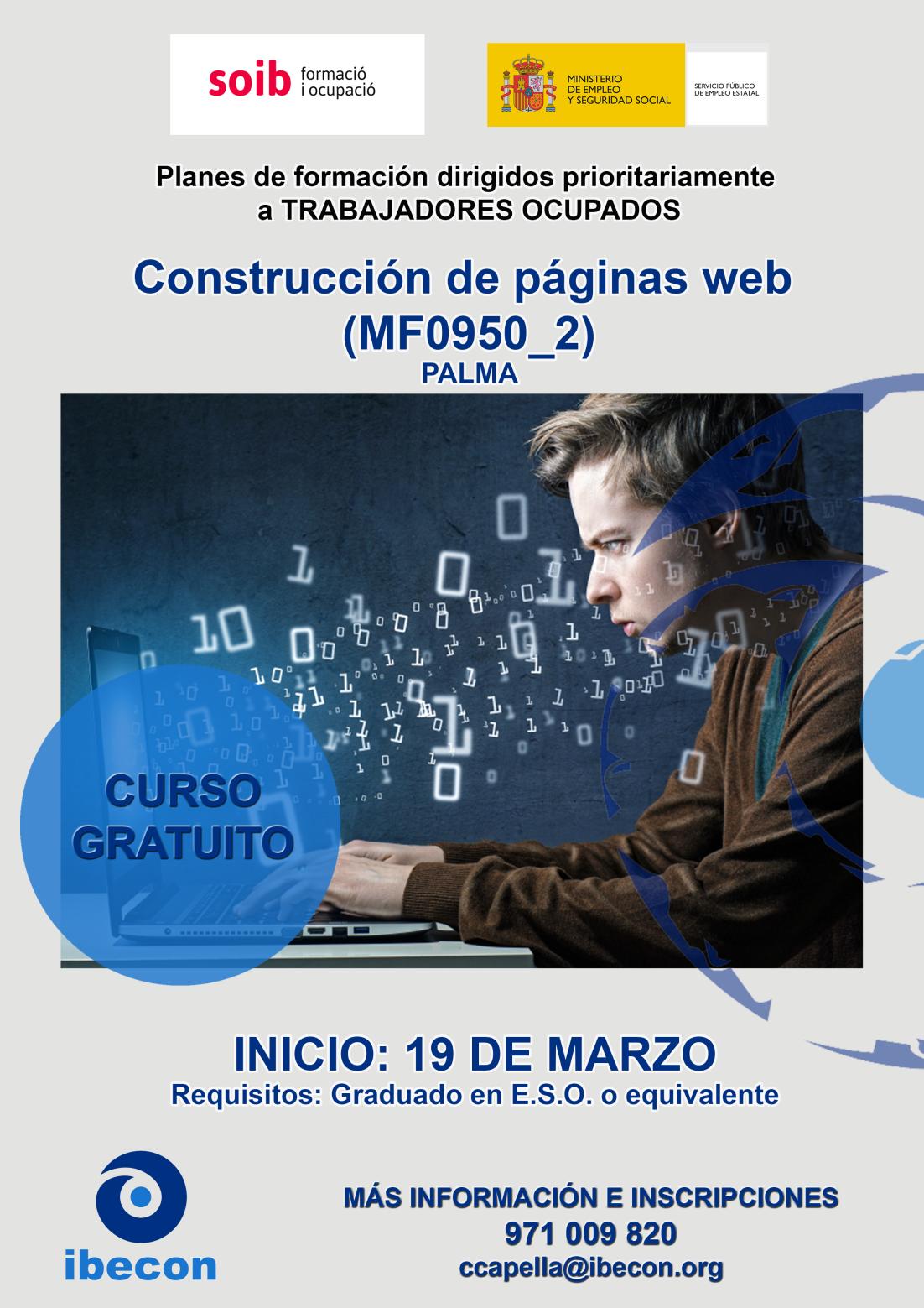 CONSTRUCCIÓN PAGINAS WEB
