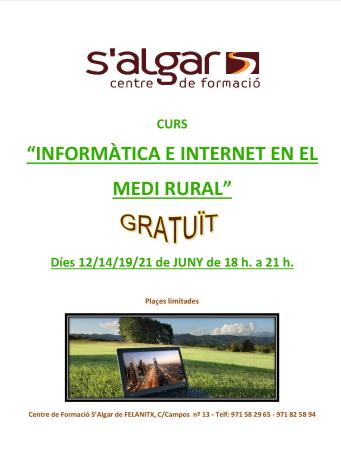 INFORMÀTICA E INTERNET EN EL MEDI RURAL