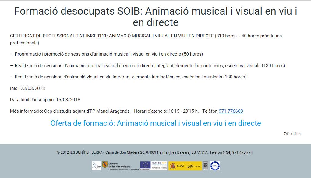 ANIMACIÓ MUSICAL EN VIU I EN DIRECTE
