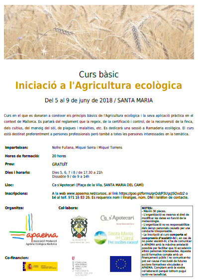 Iniciació a l'agricultura ecològica