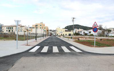 Finalitzades les obres de connexió del carrer Pelat amb el polígon de Son Colom a Felanitx